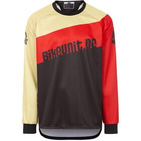 Bikeunit Gravity Pro Bike Jersey Longsleeve Men red black 900e0f376